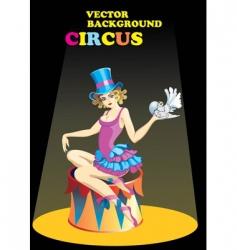 Circus performer vector
