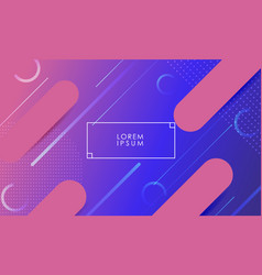Colorful background with pink lines vector