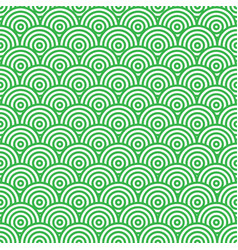 green and white abstract seamless pattern vector image