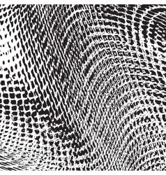 Grid Fabric Texture vector image