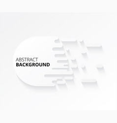 modern abstract white background design elements vector image