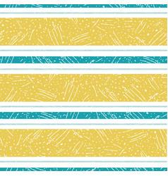 Modern saffron color and aqua blue stripe design vector