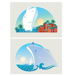 Resort liner vector