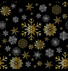 snowflake winter design season december snow vector image
