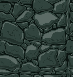 Seamless pattern with decorative stones-3 vector