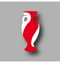 sport competition cup England participant vector image vector image