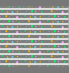 pattern dots vector image vector image