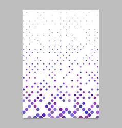 geometrical circle pattern background poster vector image