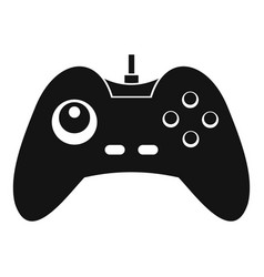 One joystick icon simple style vector