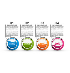Options infographics template infographics for vector