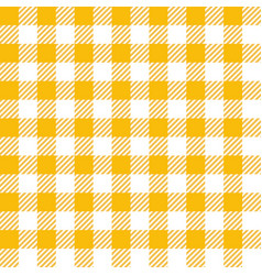 Yellow lumberjack seamless pattern vector