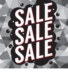 Modern Design Sale Banner vector image vector image