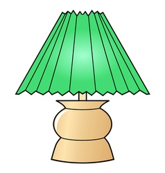 decorative lamp vector image