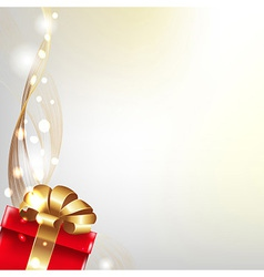 Gift Poster vector image