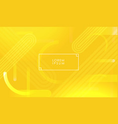 Bright yellow abstract background vector