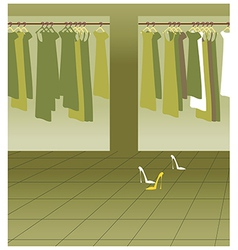Clothing Boutique Background vector image