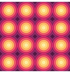 Crazy colorful gradient geometric pattern vector
