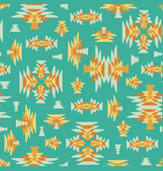 Ethnic geometric kilim woven seamless vector