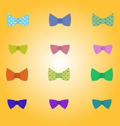 Hipster bow-tie vector