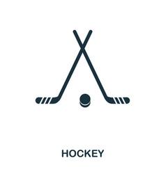 Hockey icon premium style icon design ui vector