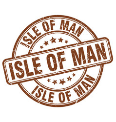 isle of man vector image