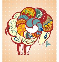 New Year symbol vector image