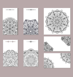 oriental black and white on a white background vector image