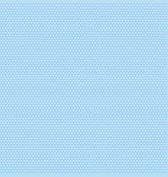 small polka dots seamless pattern on soft blue vector image