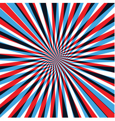 red and blue abstract line background vector image