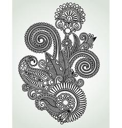 Design ornamental decoration vector