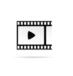 play movie symbol vector image