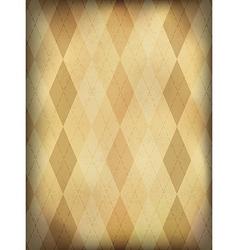 Vintage ornamented background vertical EPS10 vector image vector image
