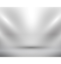 blank light room white vector image