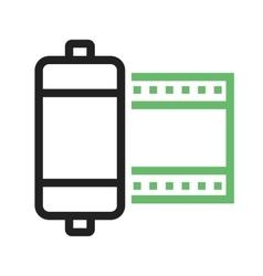 Camera Roll vector