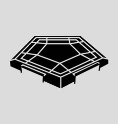 Pentagon vector