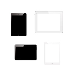 tablet pc computers vector image vector image