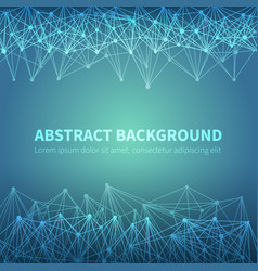 abstract geometric chemical scientific vector image vector image