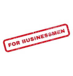 For Businessmen Text Rubber Stamp vector