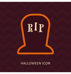 Halloween eye glass jar silhouette icon vector