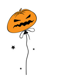 happy halloween holiday concept vector image