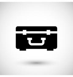 Hard case icon vector