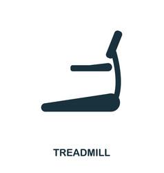 treadmill icon premium style icon design ui vector image