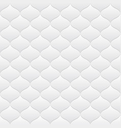 White neutral background seamless pattern vector