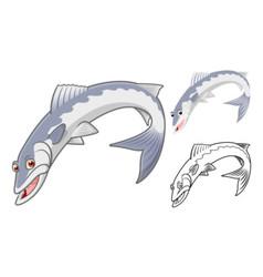 Baracuda Fish vector image