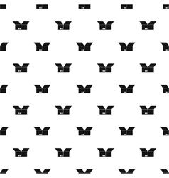 Box pattern simple style vector image vector image