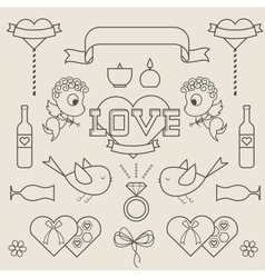 St valentines day vector image vector image