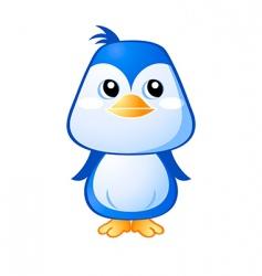cute penguin vector image vector image
