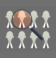 human resources - personnel audit and assessment vector image vector image