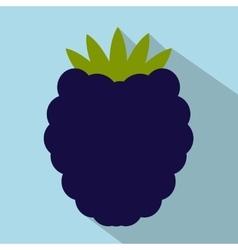 Blackberry flat icon vector