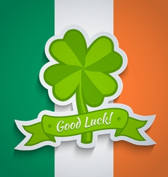 clover irish vector image